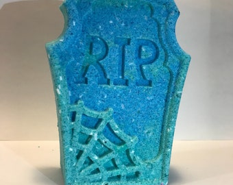 RIP Tombstone | Tombstone Bath Bomb | Bath Bombs | Unique Bath Bombs | Random Assortment | Gifts for Her | Stocking Stuffers