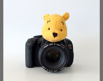 Photographer Gift, Photographer Accessories, Camera Accessories, Kids/Baby/Children Photo Props, Winnie the Pooh Bear Gift Nursery Gift Idea