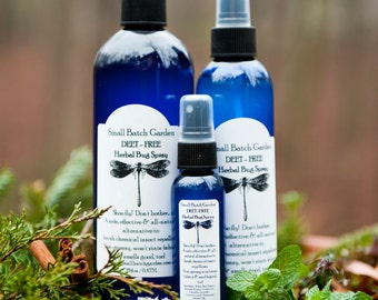 DEET Free Herbal Insect Repellent ~ Natural DEET Free Bug Spray