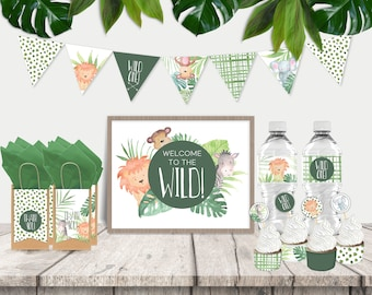 Wild One Party Printables Pack