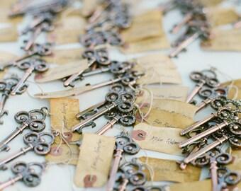 Key wedding favors
