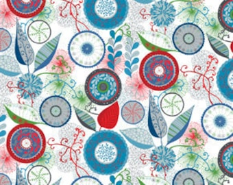 Wrenly Christmas Ingrid Snow fabric | Valori Wells - PWVW032.Snow  | last piece