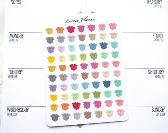 Mini Open Box (matte planner stickers, perfect for planners)