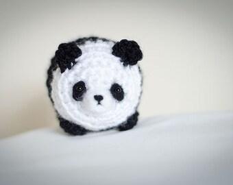 Cute Mystery Panda Amigurumi Kawaii Panda- Amigurumi Panda Crochet  OOAK