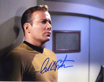 WILLIAM SHATNER signed autographed 8x10 PROFESSIONAL photo ( Pre - Print ) star trek star actor .ready to frame and display . Free Shipping