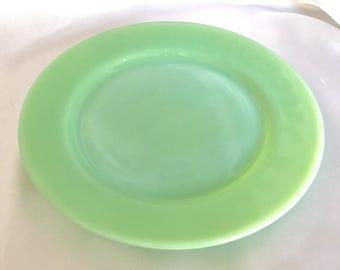 Vintage Fire King Jadeite Restaurant Ware Dinner Plate