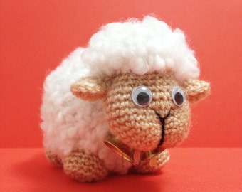 SHEEP Amigurumi Pattern Sheepy Lamb Baby Animal Easy DIY PDF Crochet Tutorial