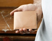 Kangaroo Leather Wallet Classic, Best Mens Wallet, Australian, Natural, Hand Stitched, Billfold Wallet, Leather Wallet, Mens Wallet, Bifold