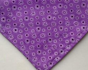 Little flowers on Purple