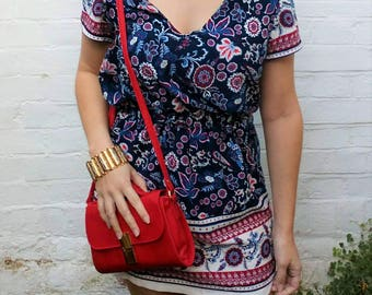 Beautiful Floral Paisley Dress