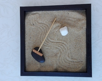 Mini Zen Garden, magic garden, zen garden rake, meditation garden, magic garden