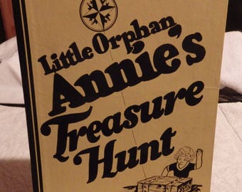 Vintage Little Orphan Annie Treasure Hunt Game