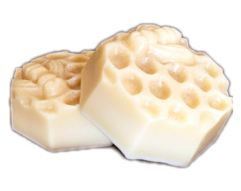 Solid Lotion Bar - Beeswax, Cocoa Butter, Jojoba Oil.