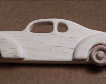 Handcrafted Wooden 1939 Ford Custom Coupe  111