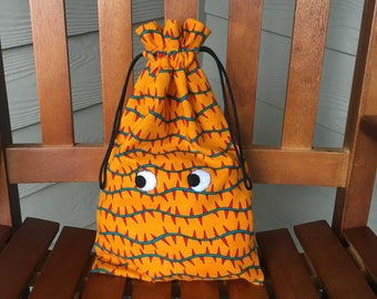 Halloween Monster Bag Trick-or-Treat Bag, 9.5 x 14, Free Shipping in the USA