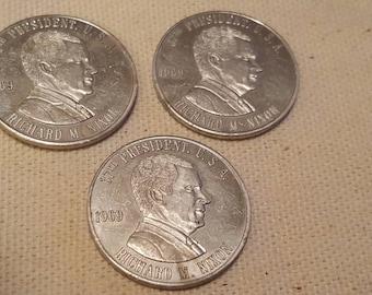 Richard M. Nixon Silver Coin 1969