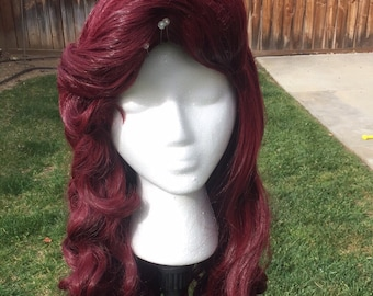 Big Bangs Ariel Little Mermaid Wig
