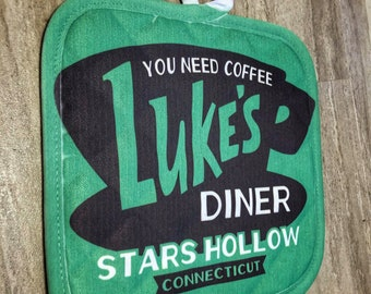 Luke's Diner | Gilmore Girls | Pot Holder