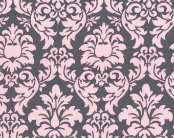 Dandy Damask - Blossom Pink from Michael Miller