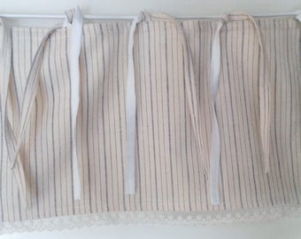 curtain or valance fabric for small old window