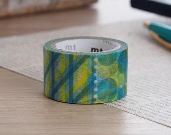 MT Fab Pattern Washi Tape | Japanese Masking Tape Craft Supplies MT 2016 Summer Collection (MTDP1P01)