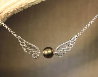 "Chain/necklace ""Golden"" Harry Potter, Quidditch, fantasy"