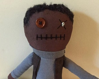 Bob - Inspired by TWD - Creepy n Cute Zombie Doll (D)