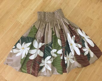 Hawaiian Hula Pa'u skirt