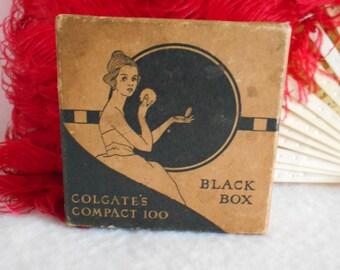 1930's Art Deco Powder Box