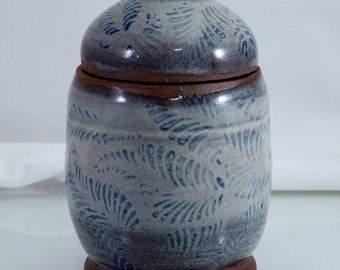 Small Covered Jar