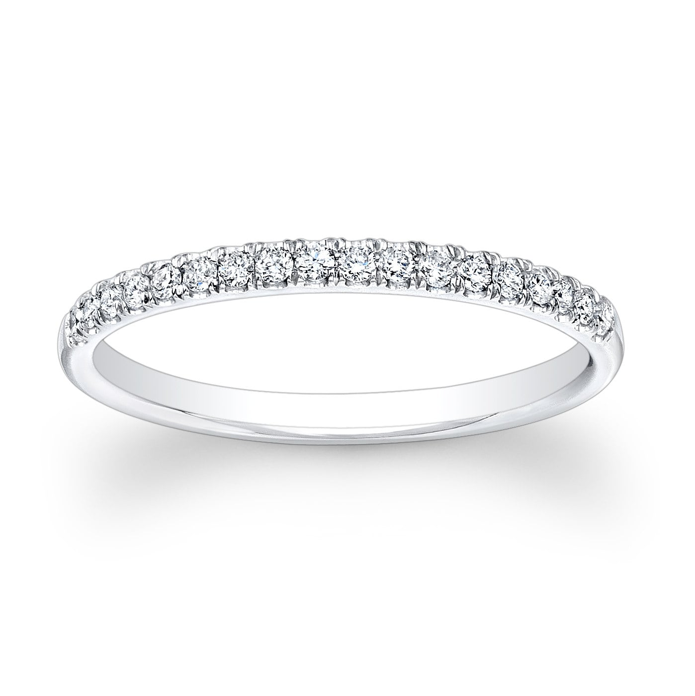 wedding bands row band all double diamond