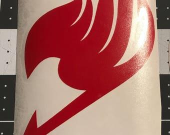 Fairytail logo decal