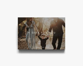 Photography Gift Certificate, Gift Voucher Template, Photographer Gift Card Templates, Gift Voucher, Photography Marketing, Certificates