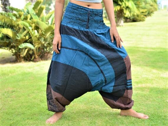 Harem pants, Hippie pants, Genie Style, handmade from 100% cotton