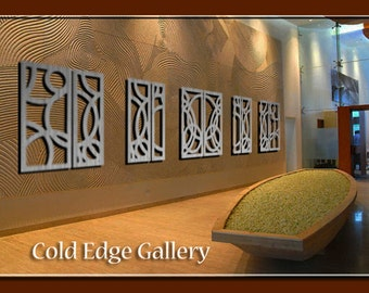"Extra Large Art,  Metal Wall Art, Art, Decor, Abstract, Contemporary, Modern, ""Portofino 10"" - Aluminum Sculpture"