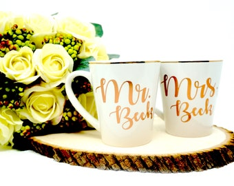 Mr and Mrs mugs, Mr and Mrs mug set, Mr and Mrs mug, his and her mugs, Mr Mrs mugs, Mr Mrs anniversary, future Mrs mug, his and hers mug set
