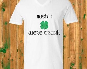 Irish I Were Dunk- V-Neck
