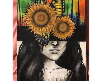 Beauty From Pain print 11x14