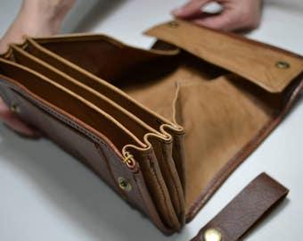 Heavy duty biker & waiter's wallet