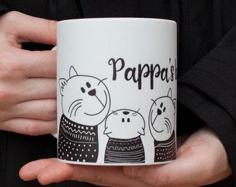 Cat Coffee Mug Personalised Mug Gift for Mum Gift Mug Cute Cat Mug Crazy Cat Lady Gift Cat Lover Gift Best Friend Gift Personalized Gift