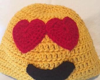 Love Emoji Hat