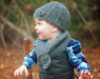 Toddler Scarf Crochet Pattern