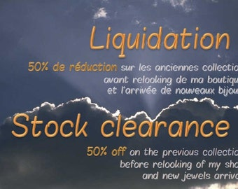 Stock clearance !