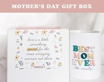 Mother's Day Gift Box. Mother's Day Care Package. Best Mom Ever Gift. Mom Relaxation Gift. Best Mom Ever Mug. Mother's Day New Mom Gift.