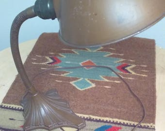 Gooseneck Desk Lamp Leviton Industrial Vintage