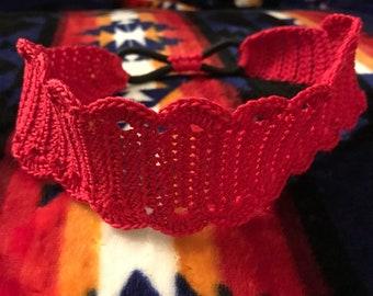 Crochet Thread Headband