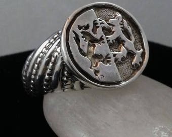 Order of the Tygers Combatant Signet Ring
