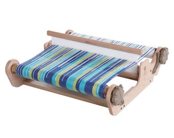 16 Inch SampleIt Loom From Ashford with Free Finishing Wax, Rigid Heddle Loom, Weaving Loom, Small Loom, Ashford Weaving Loom