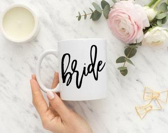 Mrs. Coffee Mug, Bride Mug, Future Mrs, Bride Gift, Wedding Gift, Engagement Gift, Bridal Shower Gift, Does This Ring, Established Mug