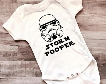 Storm Pooper Onesie - Funny Onesie